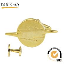 Alta qualidade novo design manguito botão lapela pin (q09655)