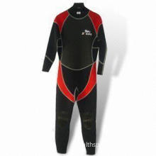 Men's Wetsuit with 3mm Neoprene and Knee Pads