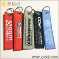 OEM name website fabric leather key tags