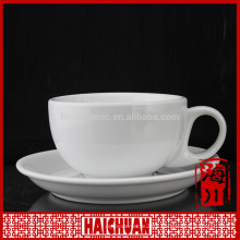 220cc new bone china set 6 cheap tea cup and saucer