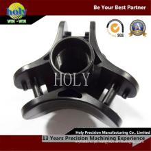 Protótipo de alumínio de usinagem de peças de reposição de câmera CNC