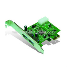 USB 3.0 2 Port PCI-E Karte, Super Speed USB3.0 PCI-E Adapter