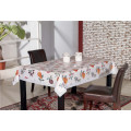 Toalha de mesa estilo PVC impressa com apoio (TJD110)
