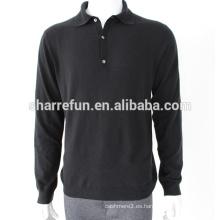 Suéter de cachemira para hombre de moda de calidad de ventas de fábrica