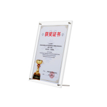 Desktop Letter Display Stand Poster Memorial Clear Acrylic Picture Photo Frame for Table