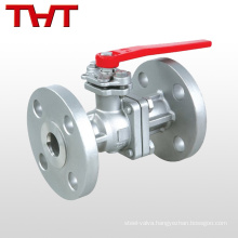 API carbon steel wcb 2 pieces body ball valve fitting