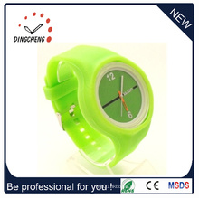 Cheap Big Watches with Silicone Straps Custom Made Watch (DC-1308)