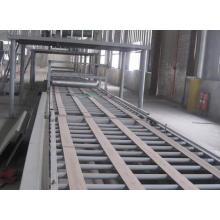 línea de producción de tablero de magnesio de vidrio