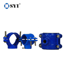 Pvc Pipe Fittings Agriculture Irrigation 20mm-250mm Hdpe Saddle Clamps