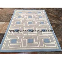 Hand getuftete chemische Faser Moderner Teppich