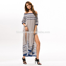 2017 New cheap clothing Wholesale one piece long sleeve plus size maxi long dress