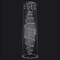crystal chain chandelier hanging chain pendant lamp