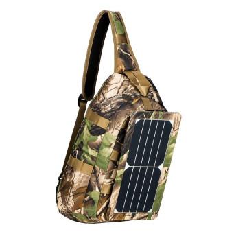 2017 Поставщик золота ECE-656 солнечный батарейный рюкзак для кемпинга