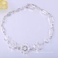 Mode quotidienne porter des bracelets en or 18 carats pour les femmes