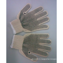 PVC Dotted Gloves for Construction Worker