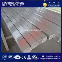 Preço de fábrica quente / laminados a frio 304 barra quadrada de aço inoxidável / haste