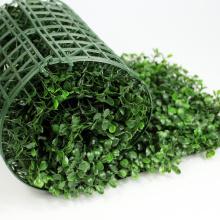 Искусственные зеленые изгороди в ландшафте листья самшита хедж-ролл из Китая