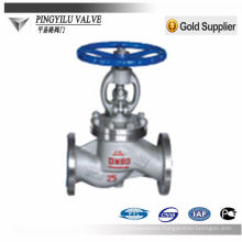 stainless steel globe valve manufacturer for district heating