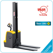 Best Quality for Standard Hand Stacker,Manual Stacker,Narrow Aisle Stacker Truck Manufacturers and Suppliers in China Xilin CDD-RD single mast electric stacker supply to Faroe Islands Suppliers