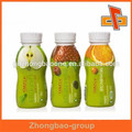 plastic sleeve bottle label for labeling with custom logo surface print