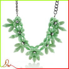 2014 new brand design resin stone fashion accessories necklace for girl friend