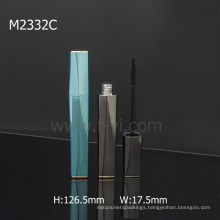 Hot Sale Square Blue With Magnet Empty Mascara Tube