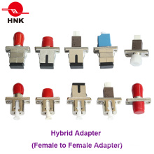 Adaptador de Fibra Óptica Híbrido LC Sc St FC Mu Simplex / Duplex