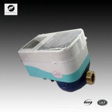 IC cartão pré-pagamento medidor de água inteligente de 20 milímetros para a área do residente, cozinha