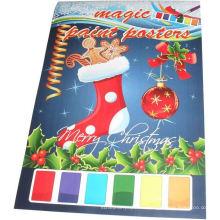 2015 Рождество дети живопись плакаты магия