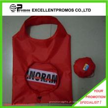 Custom grosso poliéster barato saco de compras dobrável (EP-B82959)