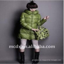 China fabricante de prendas de vestir de señoras lightheartedness padding chaqueta