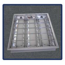 Support de tube, encastré 1220 * 600 T5 4X40W Grille lampe