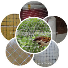 Plastic anti bird protection net machinery