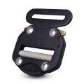 45mm Heavy Duty 300KG Aluminum Adjustable Black Electrophoresis Cobra Belt Buckle