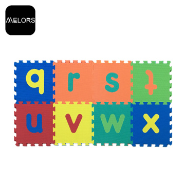 Melors Mat Kid Set Eva Letters Puzzle en mousse