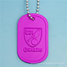 Factory Customzied Aluminum Anodize Dog Tag for Man