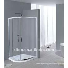 Gabinete de chuveiro em perfil de alumínio