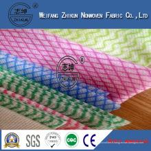 Rouleau industriel de chiffon de tissu non-tissé professionnel