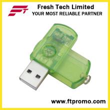Allgemeine Plastik Swivel USB-Flash-Laufwerk (D203)