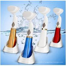 Brosse de nettoyage facial en gros de 3D, vibration se lavant le visage, brosse électrique