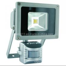 12V 24V Solar LED Flood Light extérieur avec capteur de mouvement PIR
