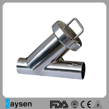 SS306 food grade Y-type welded filter