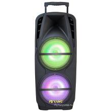 Стерео bluetooth-динамик с красочный свет F73D