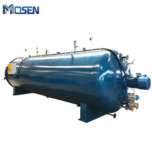 Whole sale rubber roller steam heating vulcanizer autoclave for rubber vulcanization tubes