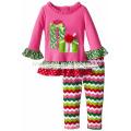 2017 neueste Baby Weihnachten Kleidung Großhandel Boutique Kleidung Mädchen Kid Kleidung