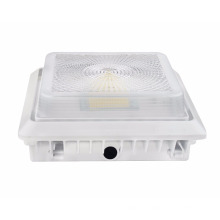 New design led canopy light 2nd Generation High CRI best Wholesale 125LM/W LED Parking Garage light