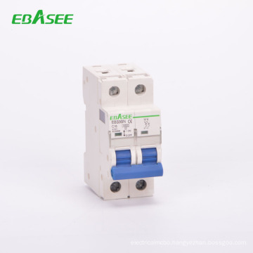 RoHS IEC61009 approved 1-125A C curve manual circuit breakers