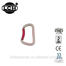 mountain climbing swivel carabiner wholesale hook with screw