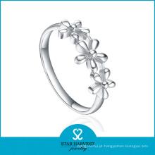 Anel barato da jóia de prata do dedo 925 com baixo MOQ (R-0390)