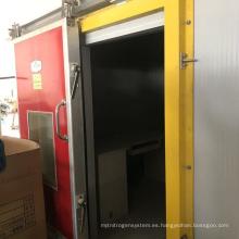 Sala de almacenamiento en frío de papa a baja temperatura